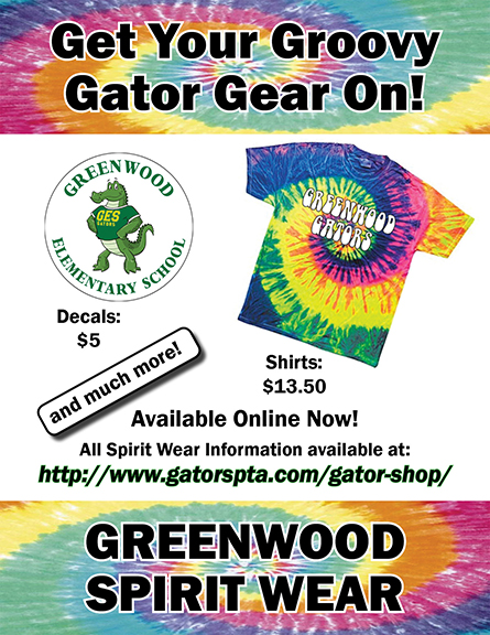 cd93f51aed36 Get Your Groovy Gator Gear On! – Greenwood Elementary PTA